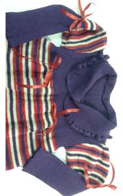 Vestido E Bolsinha Infantil Inverno Crianças Meninas Ref.154