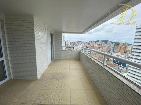 Apartamento Com 3 Dormitórios À Venda, 114 M² Por R$ 480.000,00 - Boqueirão - Praia Grande/sp - Ap3095