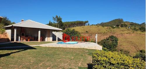 Chácara Com 3 Dormitórios À Venda, 1200 M² Por R$ 445.000,00 - Zona Rural - Paraibuna/sp - Ch0042