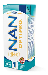 Leche Nan Optipro 1 De 0 A 6 Meses X 190ml