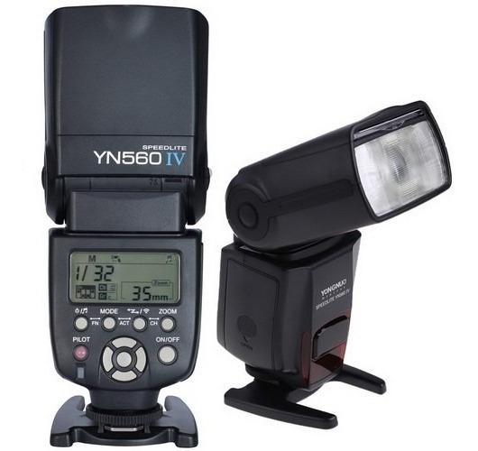 Flash Yongnuo Yn560 4 P/ Canon T6 T3i 1100d T5 60d 70d 80d 6