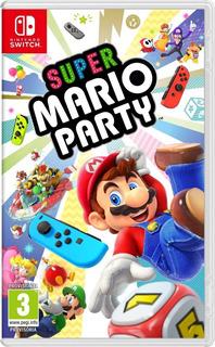Super Mario Party Nintendo Switch Juego Nuevo Envio Gratis