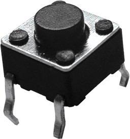 Kit 10 X Botão Chave Microswitch Push Button 4 Pinos Arduino