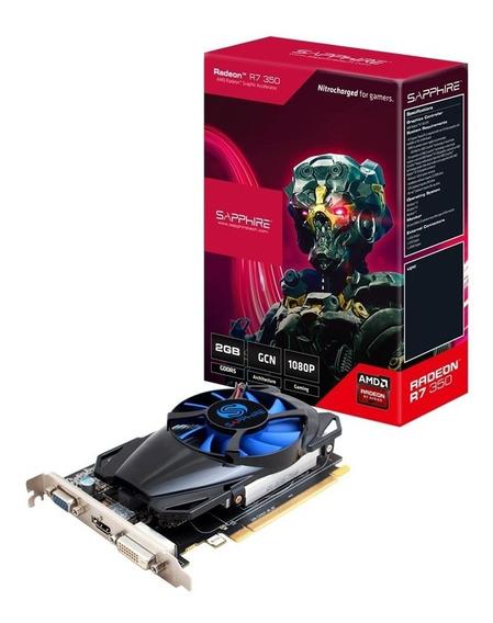 Placa Video Amd Ati Radeon Sapphire R7 350 2gb Ddr5 Xellers