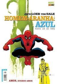 Hq Homem Aranha Azul, 3 Volumes