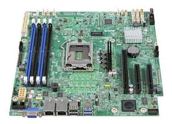 Placa Mãe Servidor Xeon E3-1200v5/v6 Ddr4 Udimm Lga 1151