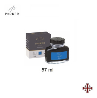 Tinta Para Pluma Fuente. Parker 57 Ml. Color Azul.