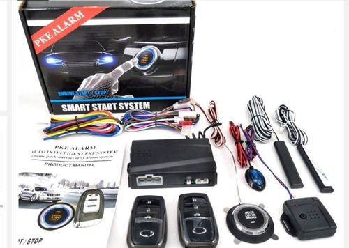 Sistema Encendido Con Boton Alarma Pke Kia +3 Juegos Luz Led