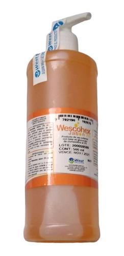 Wescohex Jabón 2% Clorhexidina Frasco X 500 Ml