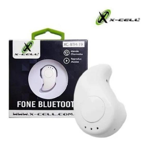 Fone Bluetooth Individual Branco - Xc-bth-19 - X-cell