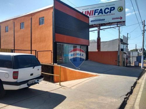 Imagem 1 de 2 de Salão Para Alugar, 200 M² Por R$ 6.800,00/mês - Planalto - Paulínia/sp - Sl0137