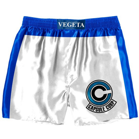 Bermuda Shorts Anime Dragon Ball Z Super Vegeta Box Cosplay