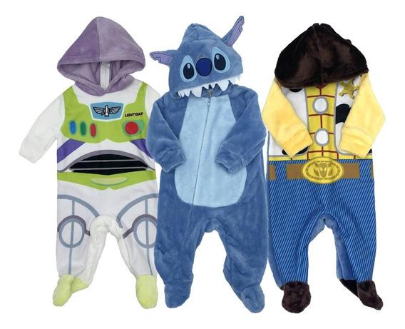 Kit 3 Mamelucos Disney Buzz, Woody, Stich A Precio De 2