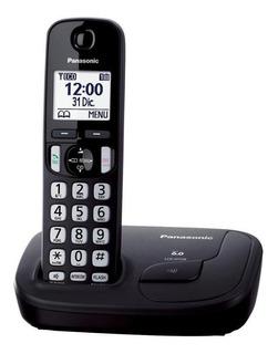 Teléfono inalámbrico Panasonic KX-TGD212 negro