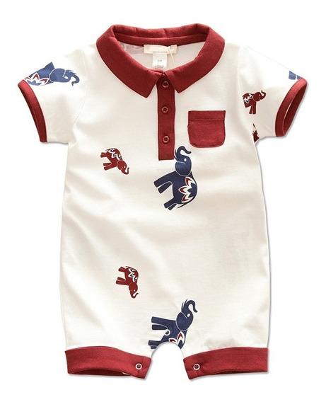Jumper Pañalero Bebé 6,12,18 Meses Algodón Calidad Elige