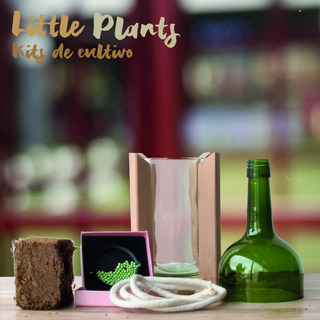 Kit Little Plant 24 Con Soporte, Maceta Autorregante