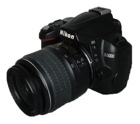Camera Nikon D3000 Seminova Perfeita + Lente 18-55mm 14k Clicks