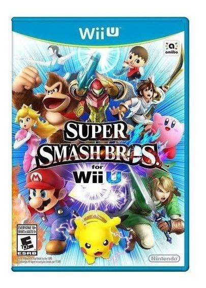 Super Smash Bros - Wii U - Midia Fisica