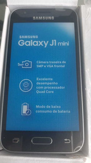 Celular Samsung J1 Mini 4g Lte 8 Gb Memoria Novo Cx Lacrada