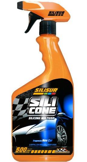 Silisur Silicona Multiuso Crema Perfumada Gatillo 500cc Auto