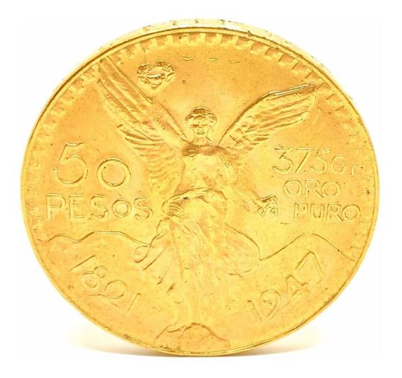 Moneda Mexicano Oro 50 Pesos Cuotas