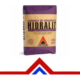 Cemento Albañileria Hidralit 40kg - Materiales Moreno