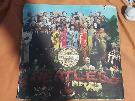Abum The Beatles Sargent Pepper