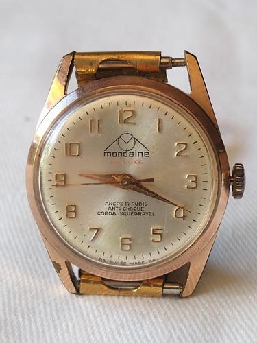 Relógio De Pulso Feminino Mondaine De Luxe 17 Rubis