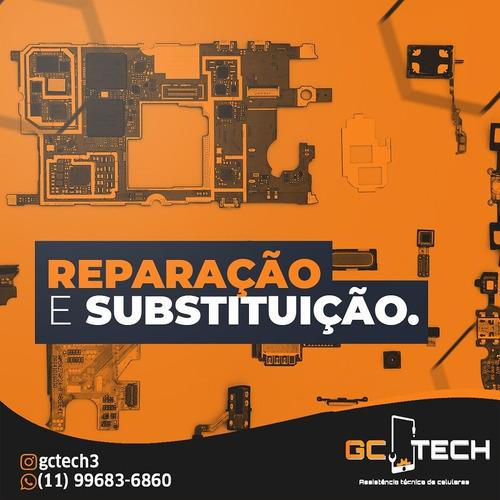 Imagem 1 de 3 de Reparos E Substituição De Componentes De Celulares E Tablets