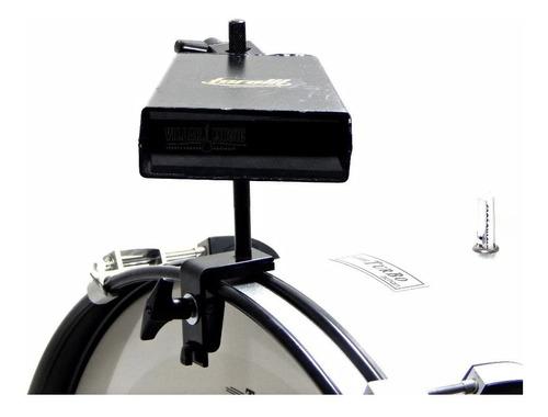 Cowbell 8 To 056 Rock + Clamp Para Fixar No Bumbo Torelli