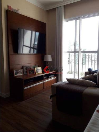 Apartamento Com 3 Dormitórios À Venda, 71 M² Por R$ 390.000,00 - Centro - São Bernardo Do Campo/sp - Ap2904