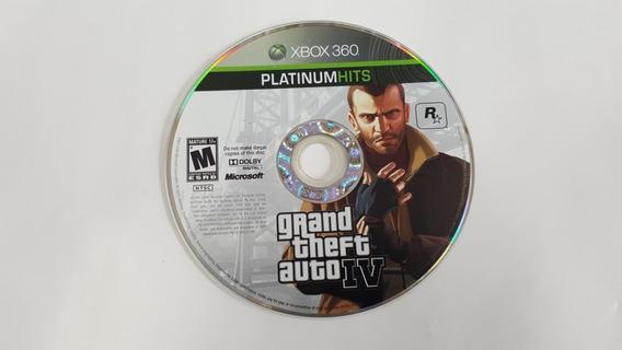 Grand Theft Auto 4 - Gta 4 - Xbox 360 - Original Sem Capa