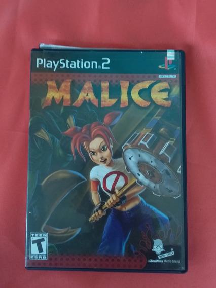 Jogo Playstation 2 Malice Original - Frete Grátis