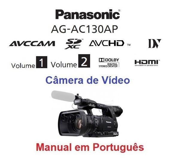 Manual Em Português Da Filmadora Panasonic Ag-ac130