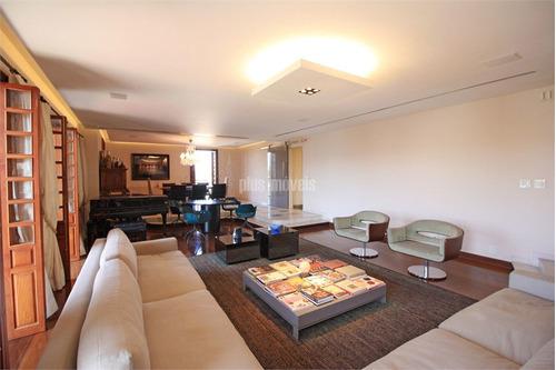 Apartamento De 336 M²  E 4 Vagas No Jardim Paulista. - Pj49817