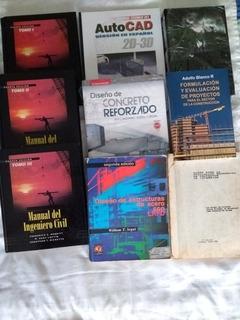 Libros De Ingenieria Civil - Concreto, Vias, Proyectos, Etc
