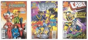 Lote X-men - Grandes Heróis Marvel 51/53/58 (envio Incluído)
