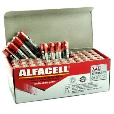 Pilha Aa (pequena) Caixa Com 48 Unidades
