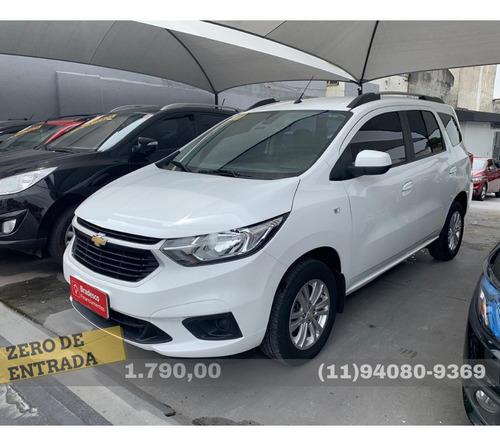 Chevrolet Spin Lt 5s 1.8 (flex) (aut) 2019 Zero De Entrada