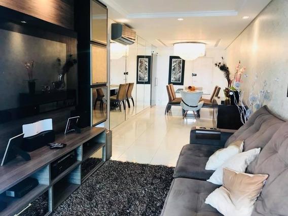 Apartamento Em Boqueirão, Praia Grande/sp De 130m² 3 Quartos À Venda Por R$ 600.000,00 - Ap169006