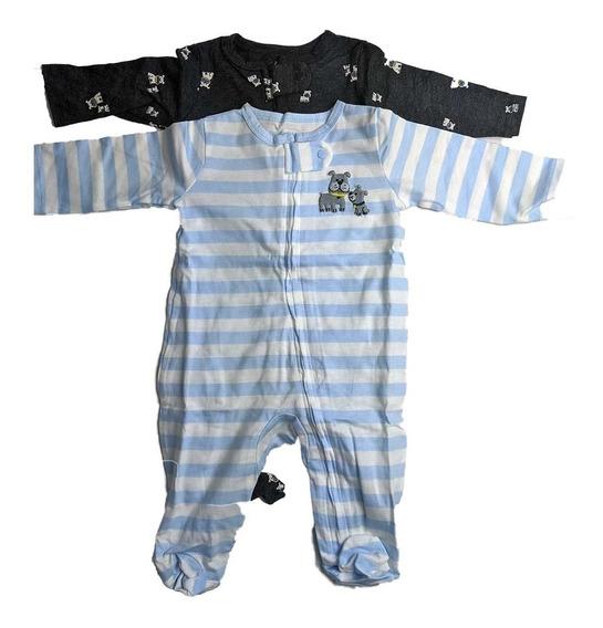 Pijama Mameluco Carters Ropa Para Bebe Niño Set 2 Unidades