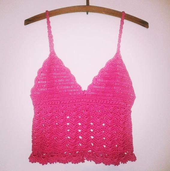 Tejidos Artesanales A Crochet: Top De Verano!!
