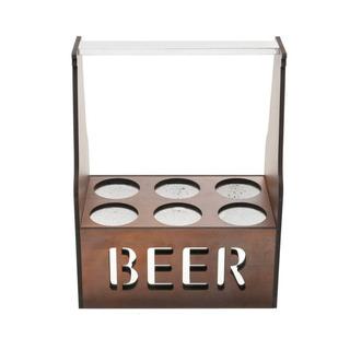 Porta Cerveja Térmico Para 6 Garrafas Quartzo J