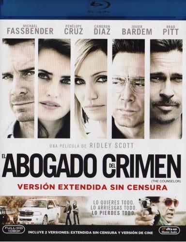 Imagen 1 de 3 de El Abogado Del Crimen The Counselor Pelicula Blu-ray