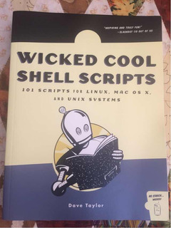 Libro Wicked Cool Shell Scripts For Linux Mac & Unix Taylor
