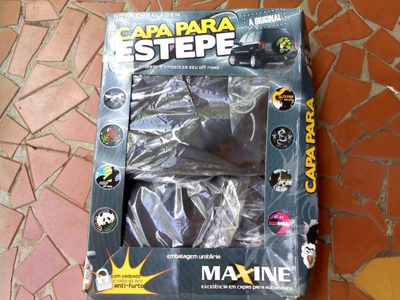 Capa Estepe Ecosport Com Cadeado E Cabo De Aço