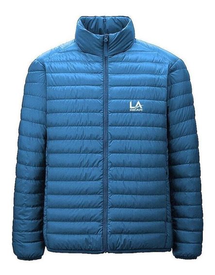 L.a Gear Campera Hombre - Ultralight Down Jacket Cel