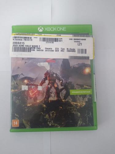 Jogo Mídia Física Halo Wars 2 Em Português Xbox One Vitrine