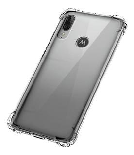 Funda Alto Impacto Motorola Moto E6 Plus + Vidrio Templado