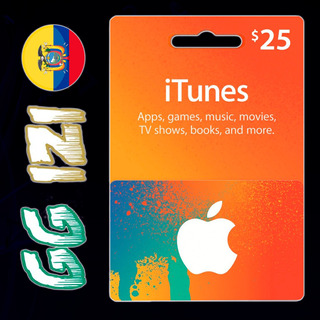Itunes Gift Card $25 - Tarjeta De Regalo Apple Store - Usa